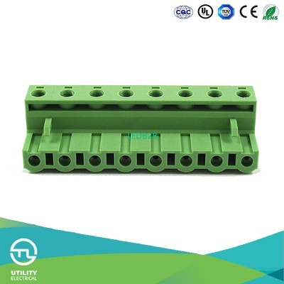 8-Pin Connector Panel PCB Mount M