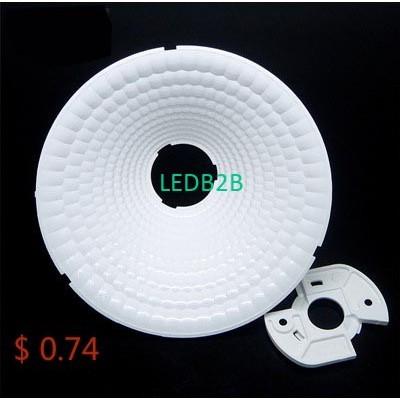 Hot led cob downlight white refle
