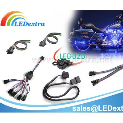 Motorcycle LED Lighting Kit Cable