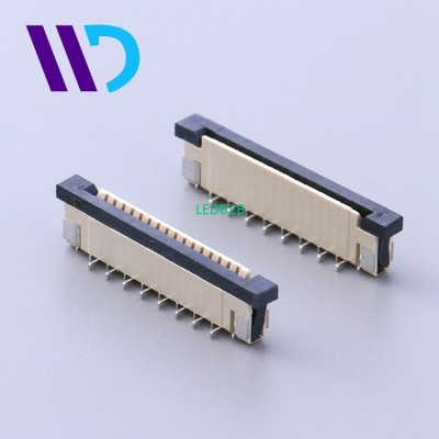 1.0mm pitch FFC FPC PCB connector