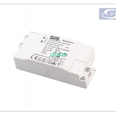 CE TUV EMC RoHS 500mA,9W Touch Di
