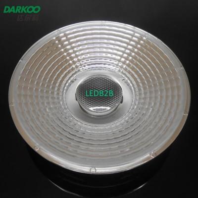 Electroplating LED lens for spotl