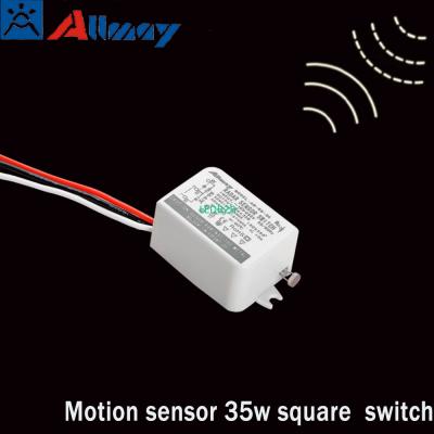 High tech recessed motion sensor