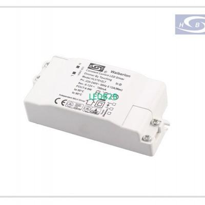 CE TUV EMC RoHS 350mA,9W Touch Di