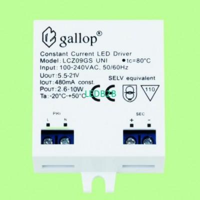 480mA  5.5-21V  2.6-10W Constant