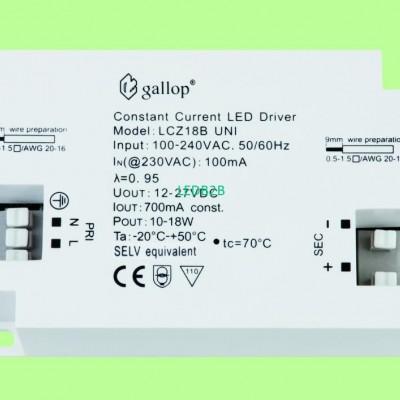 700mA  12-27V  10-18W  Constant