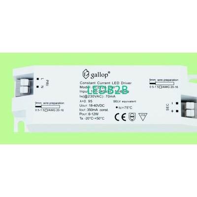 350mA  18-40V  6-12W  Constant  C