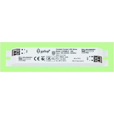 700mA  5.5-15V 3.8-10W  Constant