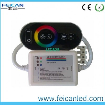 Wireless RF RGB Remote Touch rgb