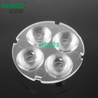 LED optical lens 3030 lens 10 deg