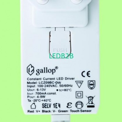 700mA  6-13V  4-9W  Dimmable  Con