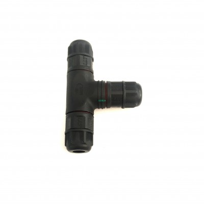 L16 2 pin waterproof t connector