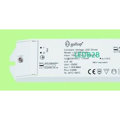 1.67A  12V  0-20W  Constant  Volt