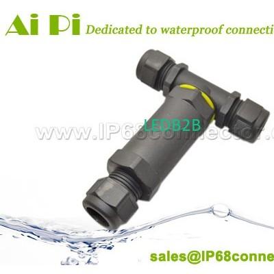 IP68 Waterproof 3-Pole T-Splitter