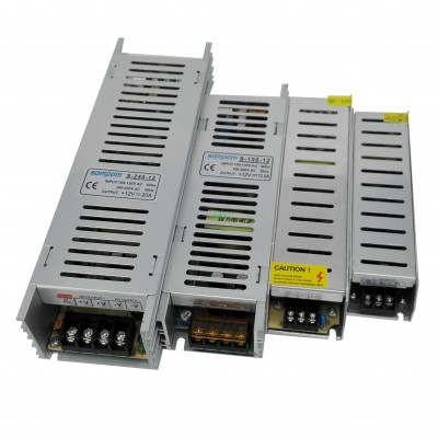 Slim Swtch Power 12V 5A Sompom Po