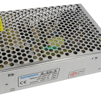 Sompom DC 5V 10A Switch Power Sup