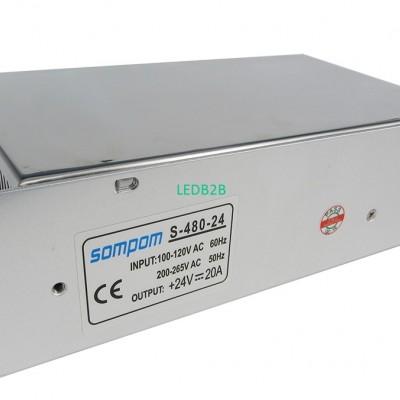 Sompom 24V 20A Switch power Suppl