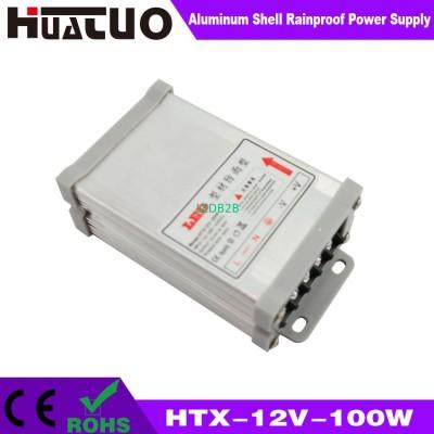 12V-100W constant voltage aluminu