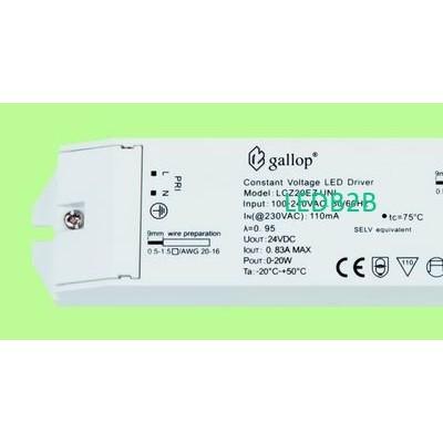 0.83A  24V  0-20W  Constant  Volt