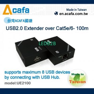 ACAFA USB2.0 Extender over Cat5e/
