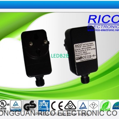 IP44 GS 5V1A led power supply