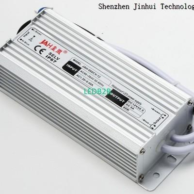 60W Waterproof Power Supply 12V 5