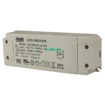 72W Series LED Drivers UL FCC cer
