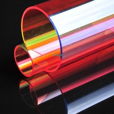 Four Colored acrylic tube