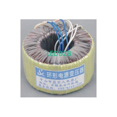 regulator for LED toroidal transf