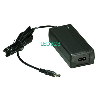 Plastic power adapter 12V 2A