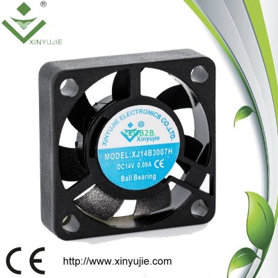 dc axial fan 3007/5V 12V dc cooli