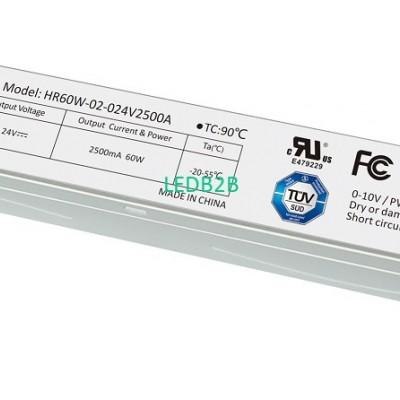 Constant Voltage 60W LED Drivers