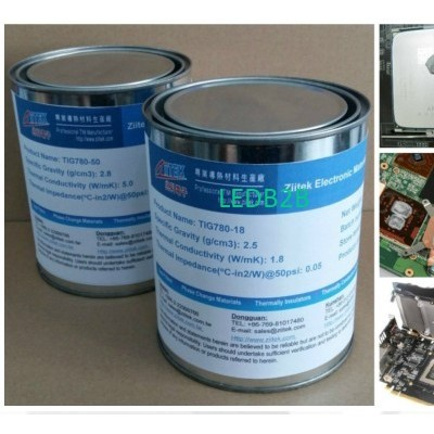 LED thermally grease
