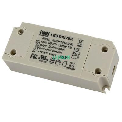 20W Series LED Drivers UL FCC Cer