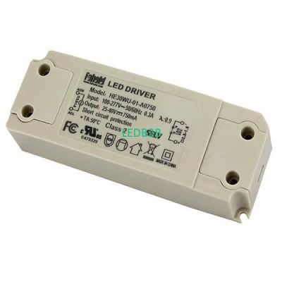 30W Series LED Driver UL Certific