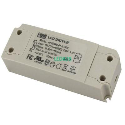 40W Series LED Drivers UL Certifi