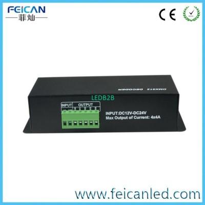 4 channel DMX512 LED Decoder LED