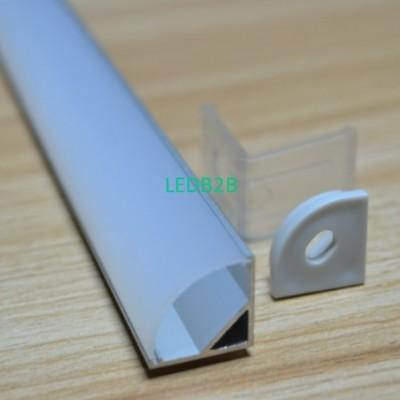 corner led aluminum profile for l