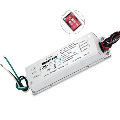 75W DIP-Switch 4 Current Selectab