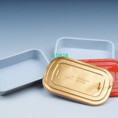 Waterborne dinner box or food con