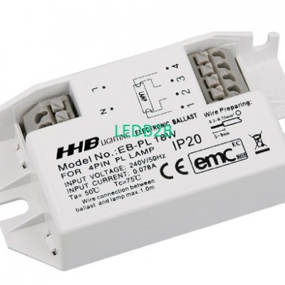 Electronic Ballast for PL Lamp, A