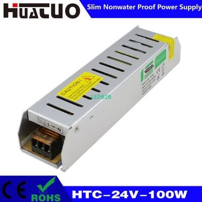 24V-100W constant voltage slim no