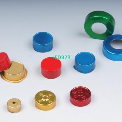 Waterborne aluminum cap coating