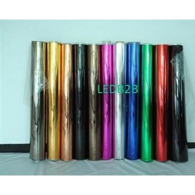 Aluminized metallic lampshade mat