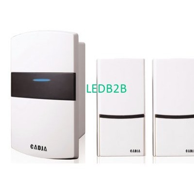 Wireless battery operated door ch