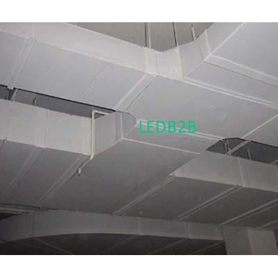 Aluminum foil coating for central