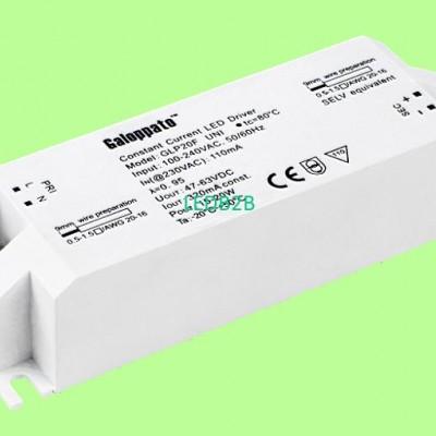320mA  47-63V 15-20W Constant  Cu