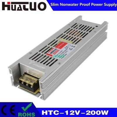 12V-200W constant voltage slim no
