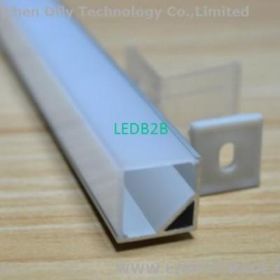 corner square aluminum led profil
