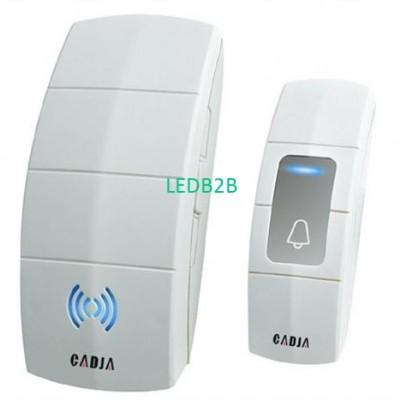 Wireless plug-in door chime